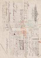 Lettre De Voiture L. Roederer, Reims, 10 Caisses Vin De Champagne -> Bordeaux 1882 - France