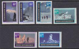 Ross Dependency 1996 Gletscherlandschaften 6v ** Mnh (40891D) - Ross Dependency (Nieuw-Zeeland)