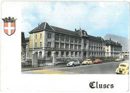 CPSM CLUSES - L'Ecole D'Horlogerie - Ed. CIM N°201 - Cluses