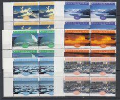 Ross Dependency 1998 Ice Formations 6v  Bl Of 4  ** Mnh (40890G) - Ross Dependency (Nieuw-Zeeland)