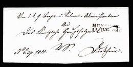 A5652) Vorphila München Briefhülle 25.7.1841 - Deutschland