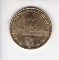 Jeton Médaille Monnaie De Paris MDP Chateau De Chambord 2007 - Monnaie De Paris