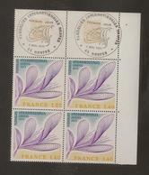 Bloc De 4 Timbres Floralies De Nantes N°1931 (bord De Feuille, Oblitération 1er Jour Dans La Marge) - Ongebruikt