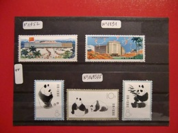CHINE RARE COLLECTION TIMBRES NEUFS** TB /SUP. SERIES ANNEES 1970 / COTE TRES IMPORTANTE / LE TOP DE LA SEMAINE - 1949 - ... République Populaire