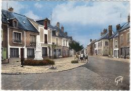Angerville (Essonne) - La Route D'Orléans - Café Orléans 'Cinzano' - (France) - Angerville