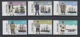"""Ross Dependency 1995 Antarctic Explorers 6v ** """"House Of Questa"""" In Margin Mnh (40891E) - Ross Dependency (Nieuw-Zeeland)"""
