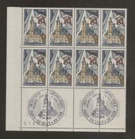 Bloc De 8 Timbres Instituts Catholique De France N°1933 (bord De Feuille, Oblitération 1er Jour Dans La Marge) - Ongebruikt