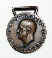 MEDAGLIA (A.O.) AFRICA ORIENTALE ( Regno D' Italia - VITTORIO EMANUELE III ) - Italie