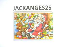 KINDER PUZZLE ALLEMAND PERE NOEL 2002 654361  + BPZ - Puzzles