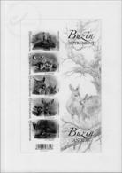 Belgium BL 4399/03 Bloc  Noir Et Blanc  BUZIN 2014   ( Br_bz ) - Foglietti Bianchi & Neri