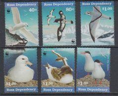 Ross Dependency 1997 Sea Birds /WWF 6v  ** Mnh (40891G) - Ross Dependency (Nieuw-Zeeland)