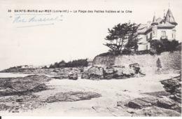 44 Sainte Marie Sur Mer , Plage Des Petites Vallées 2 Scans - Autres Communes