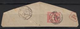 "1880 - SUPERBE FRAPPE Du CAD "" VALENCIENNES NORD "" Sur FRAGMENT Au TYPE SAGE 40c + ARRIVÉE TOURS - 1876-1898 Sage (Tipo II)"