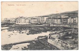 POSTAL   SANTURCE  -VIZCAYA  - VISTA DEL PUERTO - Vizcaya (Bilbao)