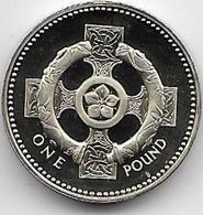 Grande Bretagne - 1 Pound - 1996 - Proof - 1971-… : Monnaies Décimales