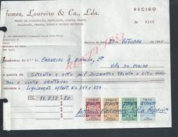 DOCUMENT COMMERCIAL GOMES LOUREIRO FER MOREIRA DA MAIA  SUR TIMBRES FISCAUX DU PORTUGAL : - Fiscaux