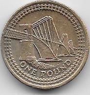 Grande Bretagne - 1 Pound - 2004 - 1971-… : Monnaies Décimales