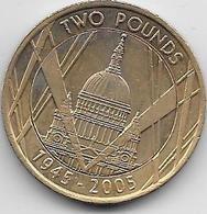 Grande Bretagne - 2 Pounds - 2005 - 1971-… : Monnaies Décimales