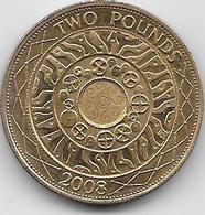 Grande Bretagne - 2 Pounds - 2008 - 1971-… : Monnaies Décimales