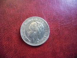 PAYS BAS - HOLLANDE - 25 Cent ARGENT De 1941 Poids 3,57 Grammes Pour 19 Mm - Wilhelmina Nederland @ KM# 164 - [ 3] 1815-… : Royaume Des Pays-Bas