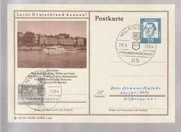 B 752) BRD 1964 Stempel 85 Nürnberg, Frankenschau Wappen (BiPo Wiesbaden, Rhein) - Ferien & Tourismus