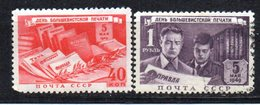Serie  Nº 1337/8  Rusia - 1923-1991 URSS