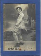 Autographe Signature à L'encre Sur Carte Postale Germain Cirque Circus - Autographes