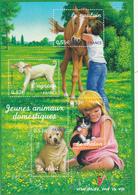 France Neuf **  2006  Bloc N° 96   Faune.  Nature De France.  Jeunes Animaux Domestiques - Blocs & Feuillets
