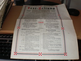 Fest Zeitung 1907 - Ohne Zuordnung