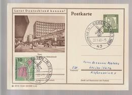 B 746) BRD 1963 Stempel 43 Holland In ESSEN Mühle, Passende BiPo Einkaufsstadt - Ferien & Tourismus
