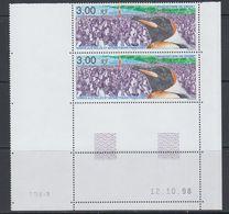 TAAF 1999 Manchotiere De Crozet 1v (pair, Printing Date) ** Mnh (40892C) - Franse Zuidelijke En Antarctische Gebieden (TAAF)