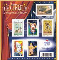 France Neuf **  2008  Bloc N° 121   Personnalités.  Le Cirque - Blocs & Feuillets