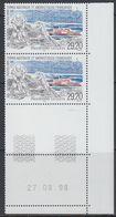 TAAF 1999 Programme Geoleta 1v (corner, Printing Date) ** Mnh (38598E) - Franse Zuidelijke En Antarctische Gebieden (TAAF)