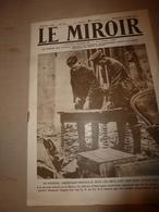 1918 LE MIROIR:Morisel,Moreuil;Les Canadiens Et Australiens à Chaulnes; Les AMEX; Nombreuses Photographies; Etc - Revues & Journaux