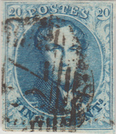 COB N° 7 - 4 Belles Marges - 79 (MARCHE) 17 Barres - 1851-1857 Medallions (6/8)