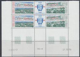 TAAF 1999 Base De Kerguelen Strip 2v+label (pair, Corner, Printing Date) ** Mnh (40892F) - Franse Zuidelijke En Antarctische Gebieden (TAAF)