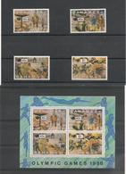 BAHAMAS J.O. De SEOUL Année 1988 N°Y/T : 665/668** Et Bloc N° 52** Côte : 17,00€ - Bahama's (1973-...)
