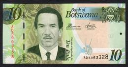 BOTSWANA : 10 Pula - 2012 - P30 - UNC - Botswana