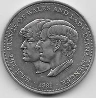 Grande Bretagne - 25 New Pence - 1981 - 1971-… : Monnaies Décimales