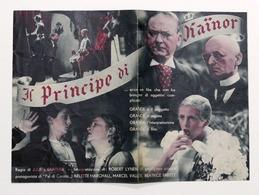 Brochure Cinema Film - Il Principe Di Kainor Di Julien Duvivier - 1933 - Pubblicitari