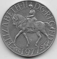 Grande Bretagne - 25 New Pence - 1977 - 1971-… : Monnaies Décimales