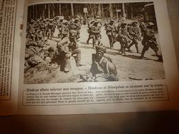 1918 LE MIROIR:Soldats Hindous Et Sénégalais; Scots Soldiers (écossais);Les Chasseurs Alpins; Etc - Magazines & Papers