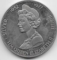 Grande Bretagne - Médaille Silver Jubilée - 1977 - Cupro Nickel - United Kingdom