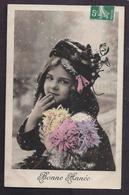 CPA Enfant Jolie Fillette En Manteau De Fourrure - Pretty Girl - Photo - Portraits