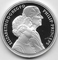 Grande Bretagne - 5 Pounds - Argent - 1997 - FDC - 1971-… : Monnaies Décimales