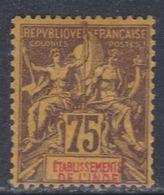 Inde N° 12  X Type Groupe : 75 C. Violet Sur Jaune   Trace De Charnière  Sinon TB - India (1892-1954)