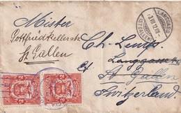 PANAMA 1912 LETTRE DECOLON  POUR ST.GALL - Panama