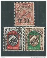 Algérie Préo. N° 14 / 16  XX  Les 3 Valeurs Sans Charnière, TB - Algeria (1924-1962)