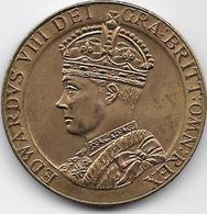 Grande Bretagne - Edward VIII - 1937 - Cuivre - Royal/Of Nobility