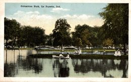 COLUMBIAN PARK LA FAYETTE IND - Etats-Unis